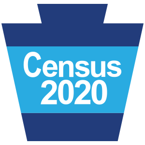 Census 2020 - Pennsylvania Complete Count Commission Keystone Logo