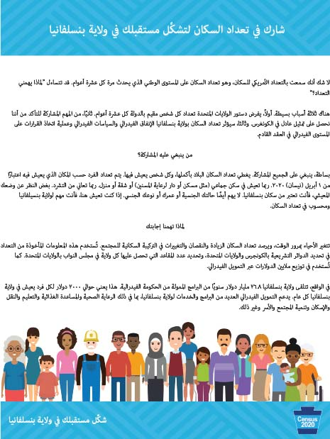 Awareness Flyer - 2-Sided General Overview (8.5×11) - Arabic