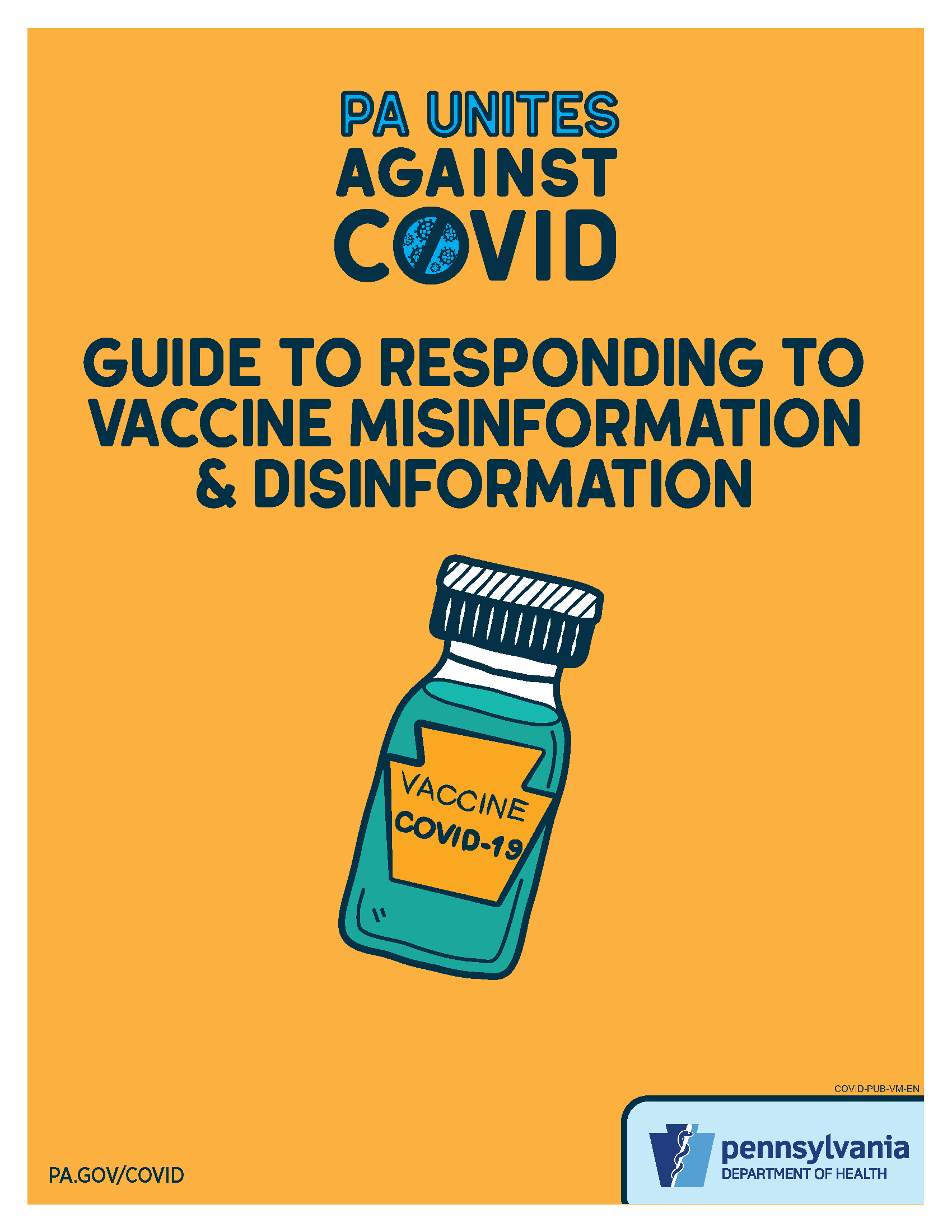 Guide to Responding to Vaccine Misinformation & Disinformation