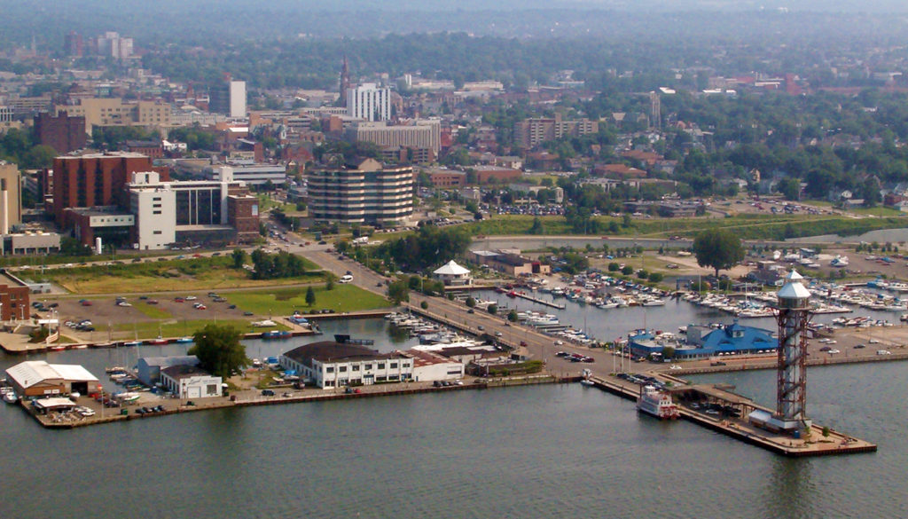 The Port of Erie