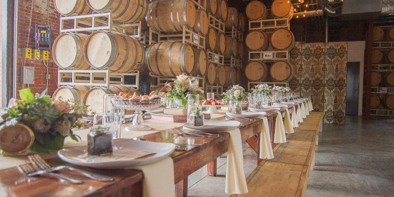 Distillery, Dinner, Wedding