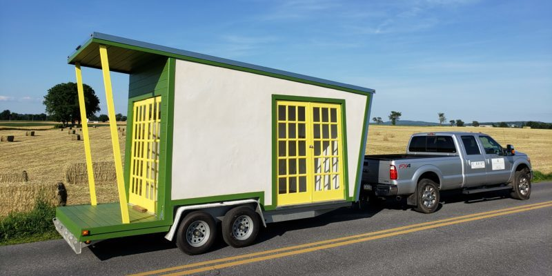 Hemp House on Wheels, mentioned in the story, courtesy of Cameron McInstosh