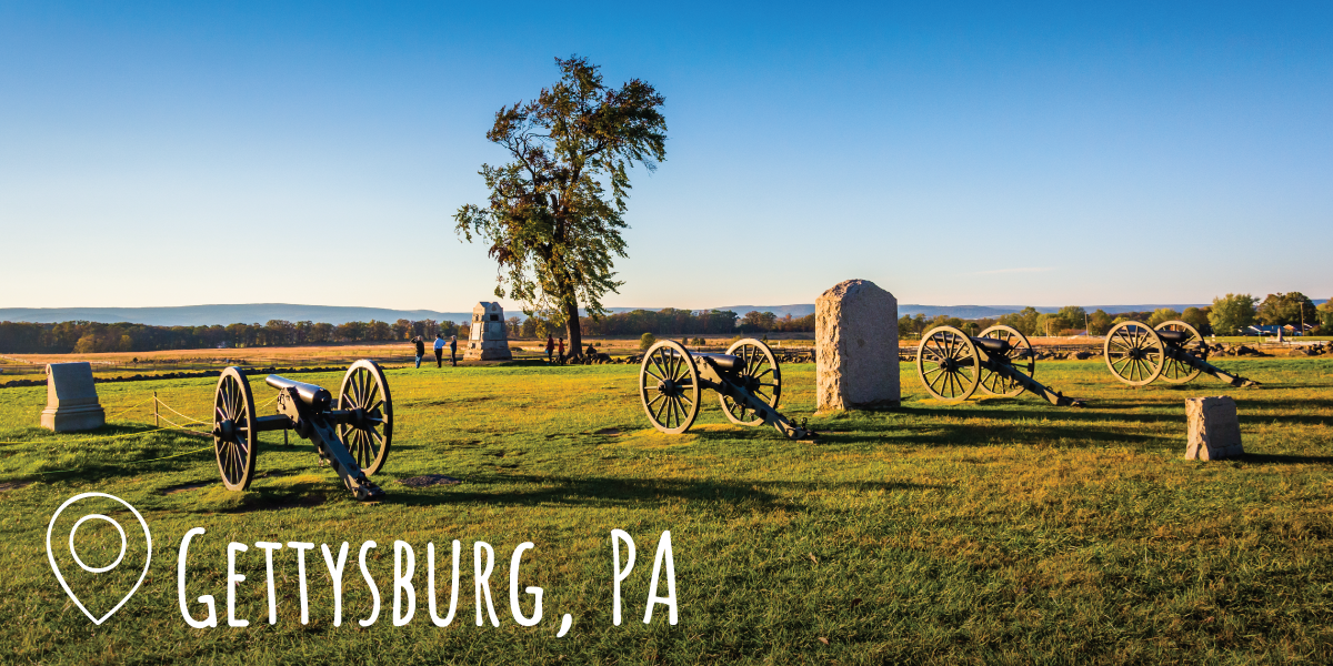 Photo of Gettysburg National Military Park in Gettysburg, PA