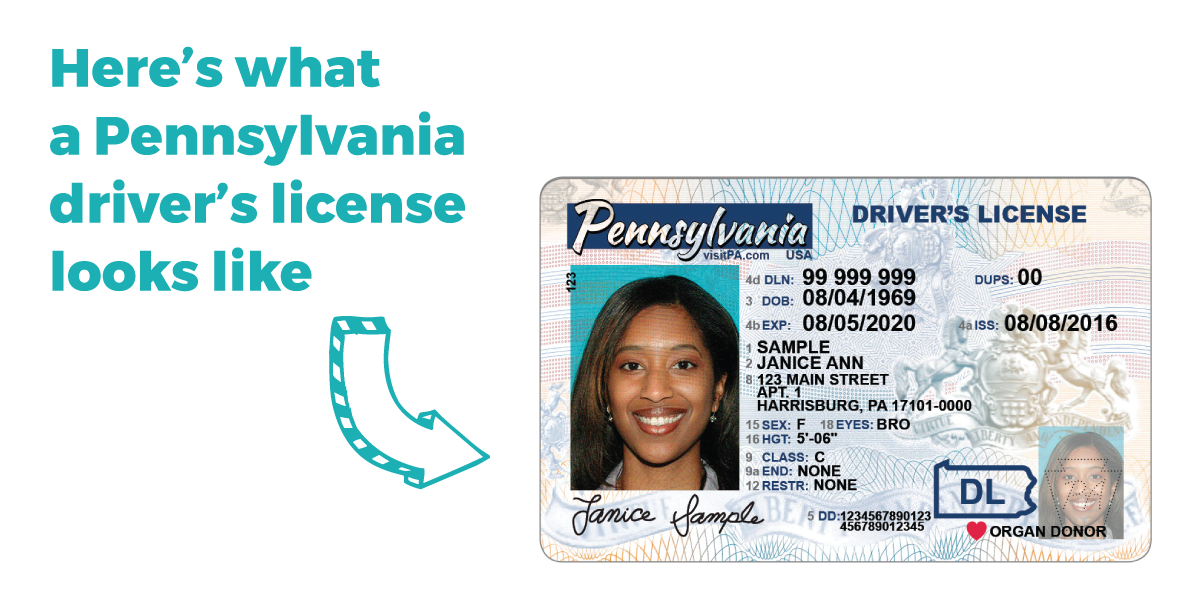 requirements for pa drivers license test