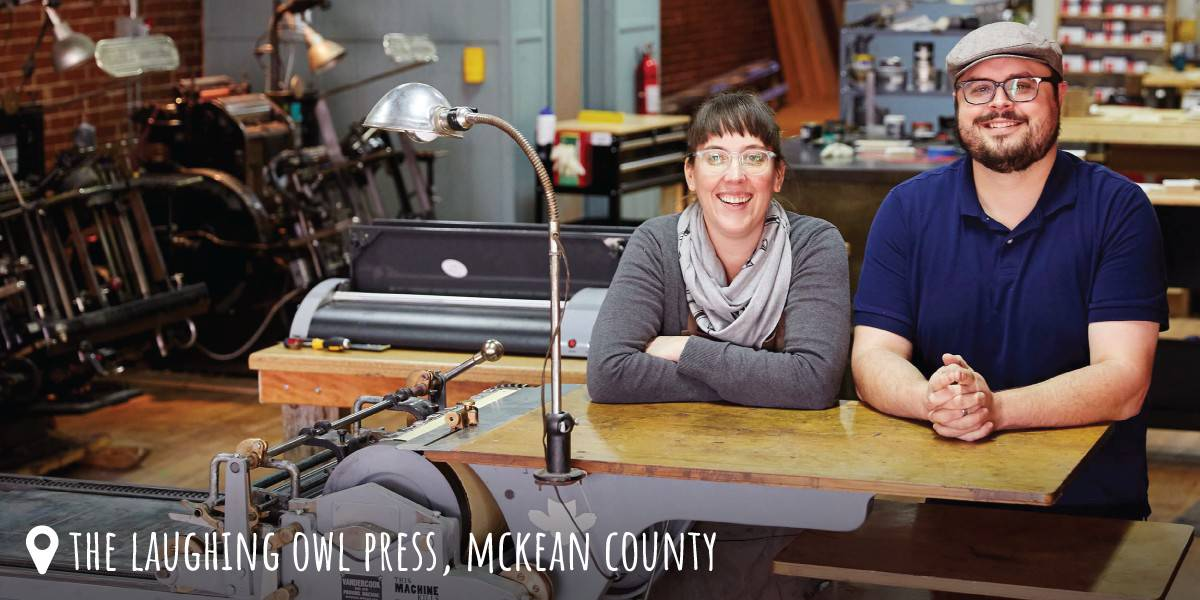 Photo of The Laughing Owl Press in McKean County