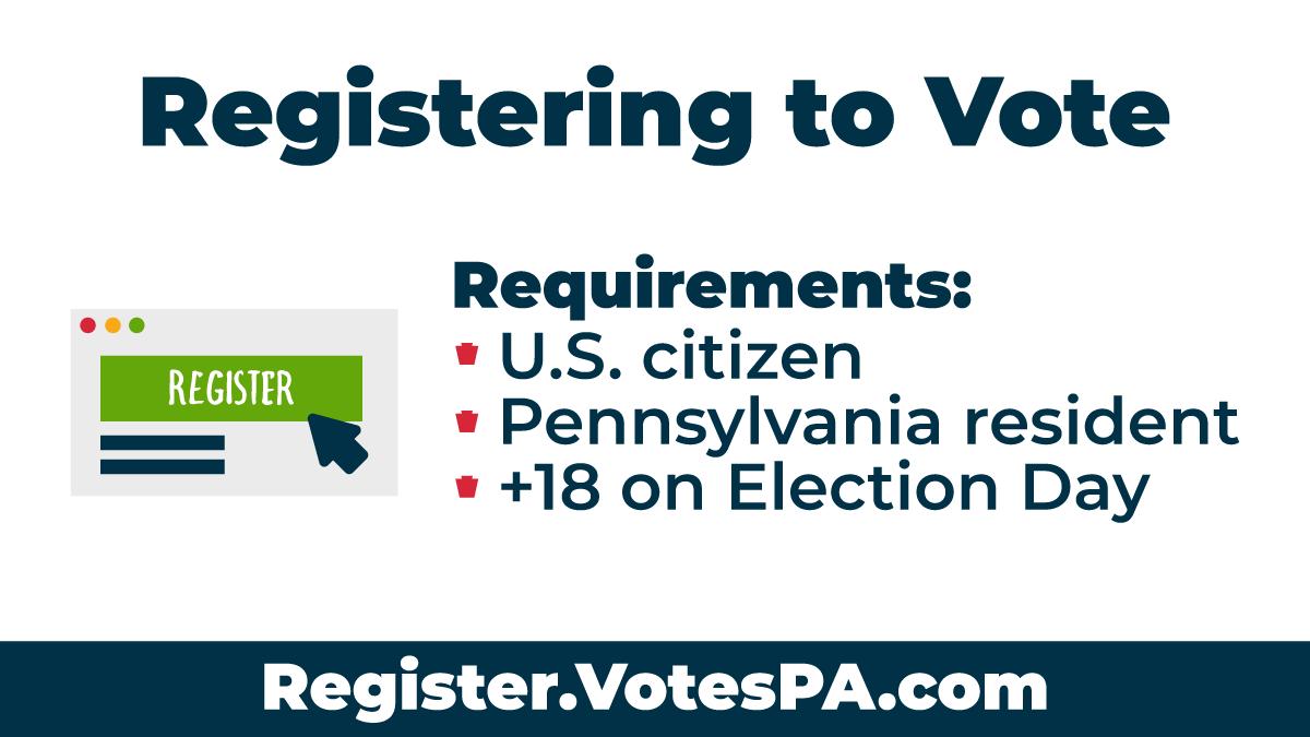 Voting In Pennsylvania Pa Gov