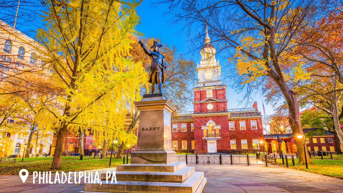 Photo of Independence Hall in Philadelphia, PA